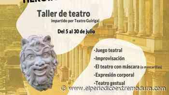 Taller de teatro en la Casa de la Cultura de Los Santos de Maimona - El Periódico de Extremadura