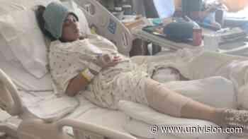 """Tengo que aprender a caminar de nuevo"": Hispana queda hospitalizada tras tiroteo en Austin - Univision 62 Austin"