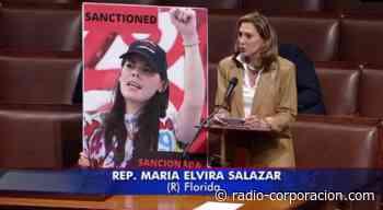María Elvira Salazar expone ante el Congreso a la sancionada Camila Ortega - radio-corporacion.com