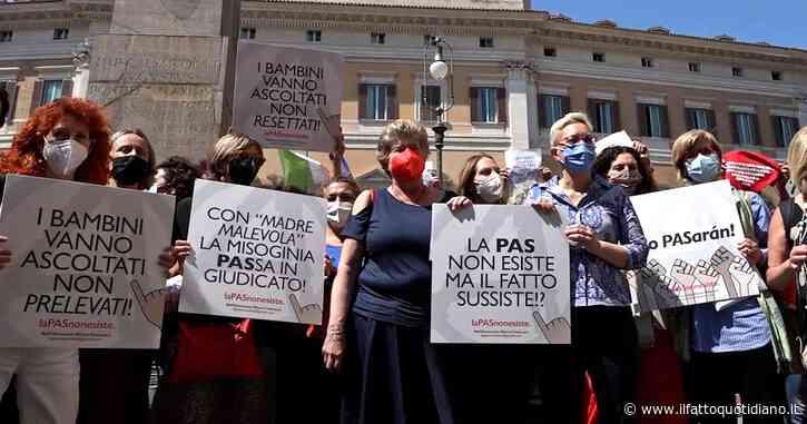 """Minori, a Roma protesta contro la 'sindrome da alienazione parentale': """"Costrutto senza basi scientifiche ma ancora usato nei tribunali"""""""