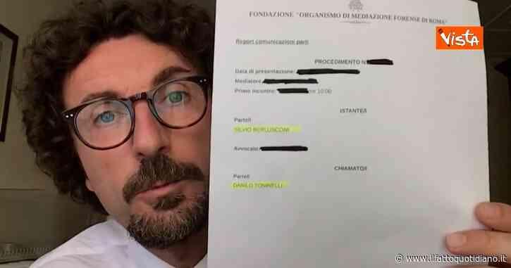 "Toninelli: ""Ricevuta citazione civile da Berlusconi, mi chiede 200mila euro"". Ghedini: ""È stato lui a querelare l'ex premier"""