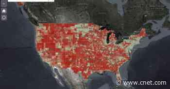 Biden administration's new broadband map shows stark digital divide     - CNET