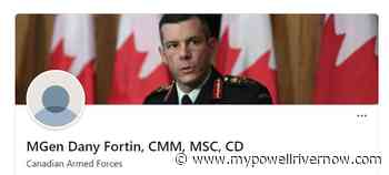 Major General Fortin asking court to quash his removal - My Powell River Now