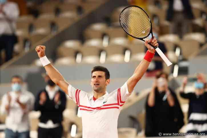 'Novak Djokovic wasn't happy to see Roger Federer, Rafael Nadal in his half,' says..