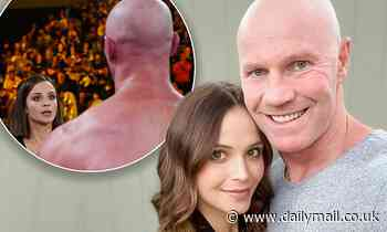 AFL: Barry Hall to return to boxing; partner Lauren Brant 'doesn't like it at all' - Daily Mail