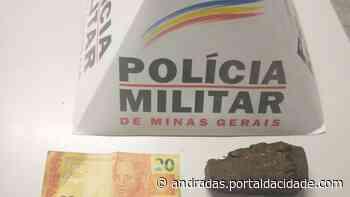 Adolescente é apreendido pela prática de tráfico de drogas em Andradas - ® Portal da Cidade | Andradas