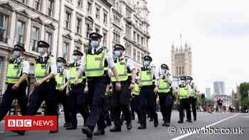 Man charged after BBC reporter chased by protesters