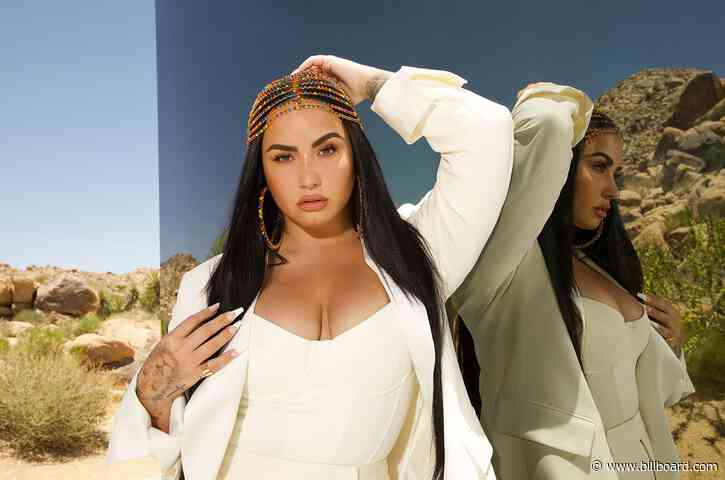 Demi Lovato Launches Pride-Themed Face Mask Collaboration