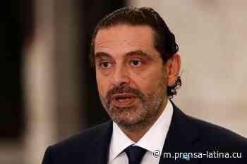 Primer ministro designado de Líbano insinuó renuncia - Prensa Latina