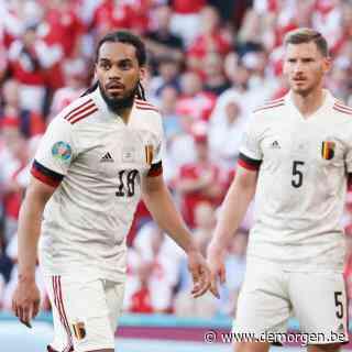 Jan Vertonghen na moeizame 1-2 winst tegen Denen: 'We waren onherkenbaar in eerste helft'