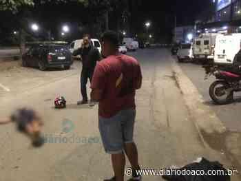 Mulher é atropelada por motocicleta em Ipatinga e fica gravemente ferida - Jornal Diário do Aço