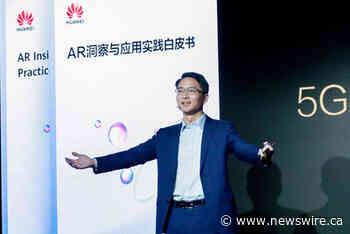 Huawei publica un documento blanco sobre RA y explica las ventajas de 5G + RA