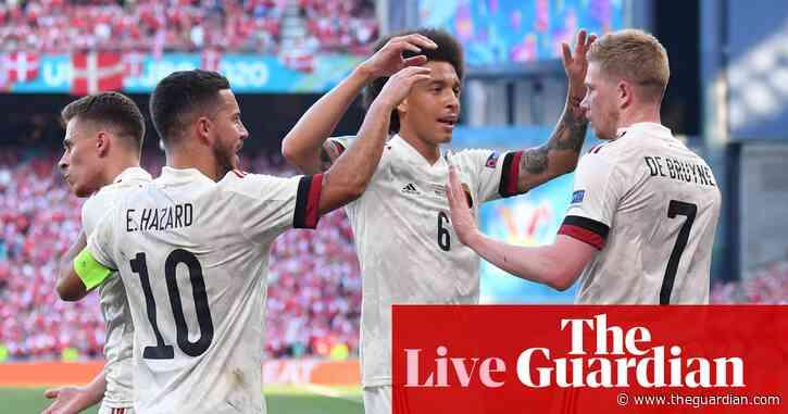 Denmark 1-2 Belgium: Euro 2020 – as it happened