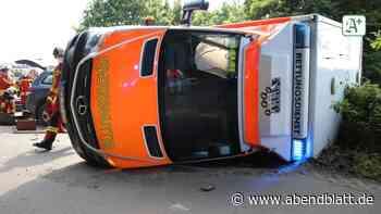 Schleswig-Holstein: Rettungswagen stößt mit SUV zusammen – drei Verletzte