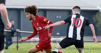 Newcastle United on brink of signing Liverpool teenager on professional deal