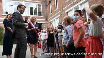 Nach der Ohrfeige: Schulkind erkundigt sich bei Macron