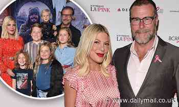 Tori Spelling reveals she and husband Dean McDermott are sleeping in separate bedrooms