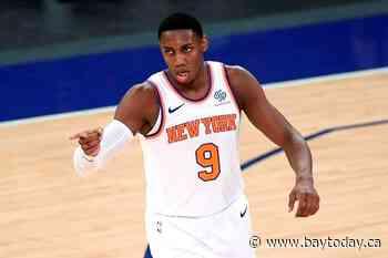 Knicks' RJ Barrett says timing 'perfect' for Canadian basketball team