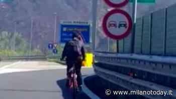 Il ragazzino che va in bici sulla Milano-Meda per andare a casa di un amichetto - MilanoToday.it