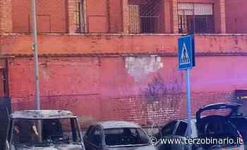 Incendio in via Filippo Meda: fiamme distruggono camper e auto - TerzoBinario.it