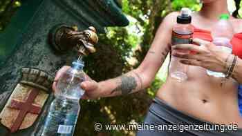 Trinken im Sommer: Mindestmenge an Wasser deutlich höher als gedacht