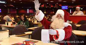 Mecca Ayr's National Bingo Day celebrations to begin with festive frolics and belated Christmas party - Daily Record