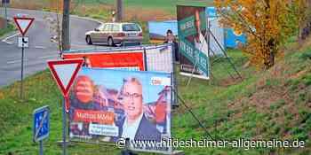 Parteien in Algermissen verzichten weitgehend auf Wahlplakate - www.hildesheimer-allgemeine.de