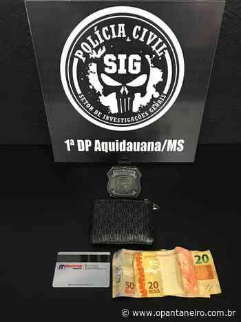 Suspeito de furtar carteira em loja é identificado pela polícia em Aquidauana - O Pantaneiro