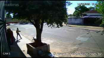 Em Aquidauana, homem é flagrado por câmera de segurança furtando abóbora - O Pantaneiro