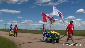 Alberta men to walk 3,800 km to honour missing and murdered Indigenous women and girls