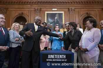 Biden to sign bill making Juneteenth a federal holiday - Alberni Valley News