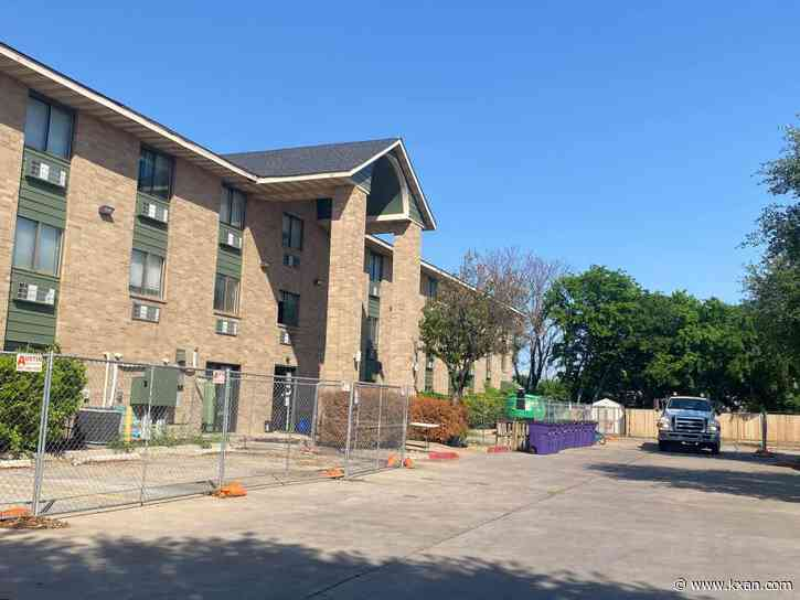 First guests move from Austin homeless camps to former motel-turned-COVID-19 facility