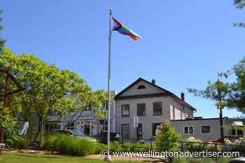Pride flag the first to fly on new Elora Green Space pole - Wellington Advertiser
