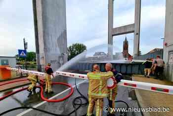Warmte doet brugdek van Brielenbrug een centimeter uitzetten: brug zakt niet meer