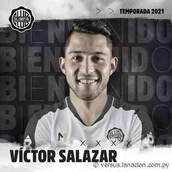 Víctor Ezequiel Salazar, confirmado como refuerzo de Olimpia - La Nación.com.py