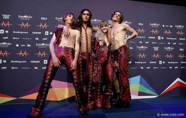 Eurovision winners Måneskin set to gatecrash UK singles chart this week