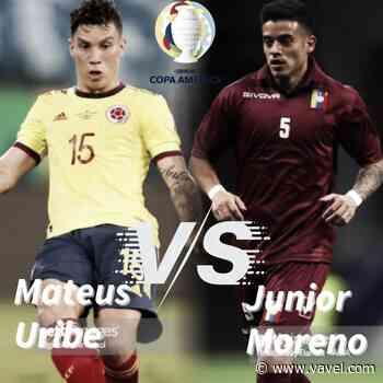 Cara a cara: Mateus Uribe vs Junior Moreno - VAVEL.com