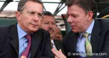 """""""El señor"""": Álvaro Uribe evita llamar a Juan Manuel Santos por su nombre - Semana"""