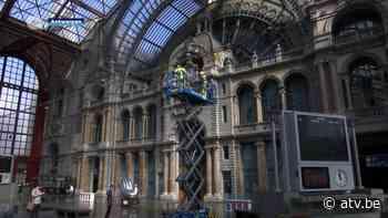 Bijzondere werken in station Antwerpen-Centraal - ATV
