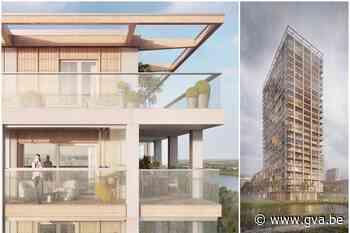 Zo zal de houten BAN-toren op Nieuw Zuid eruitzien - Gazet van Antwerpen