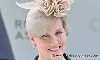 Countess of Wessex celebrates Royal Ascot win in glorious headpiece