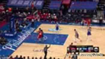 NBA-Playoffs: Atlanta Hawks siegen nach Monster-Comeback gegen Philadelphia 76ers - Highlights - Eurosport DE