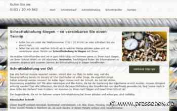 Schrottabholung in Siegen – Schrott-Ankauf-NRW, Schrott-Ankauf-NRW, Pressemitteilung - PresseBox