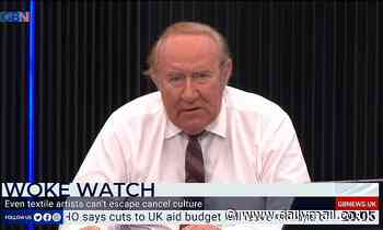 GB News chief Andrew Neil blasts firms who 'took the knee and cowed' in ad boycott row