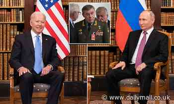 Kremlin intrigue after Putin brought Army General who heads Joint Staff to Geneva summit
