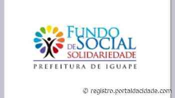 Doação FSS de Iguape recebe 1.072 mil cestas básicas do Governo do Estado 15/06/2021 - Adilson Cabral