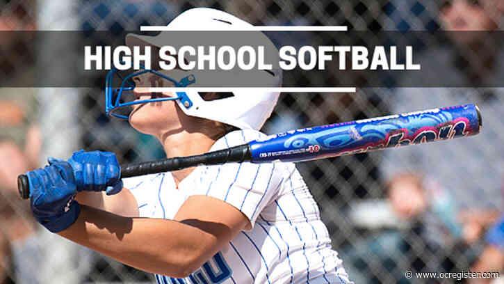 Previews of CIF-SS softball championship games Friday, June 18