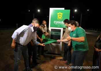 Emanuel Pinheiro entrega iluminação 100% LED na Rodovia Palmiro Paes de Barros — O Mato Grosso - O Mato Grosso