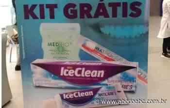 Estação Adolfo Pinheiro recebe campanha de incentivo à saúde bucal - ABCdoABC