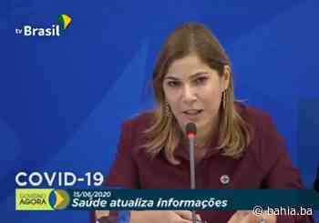 Secretária do Ministério da Saúde, Mayra Pinheiro é vacinada - Bahia.ba